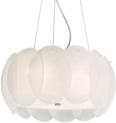 Купить Подвесной светильник Ideal Lux Ovalino SP5 Bianco