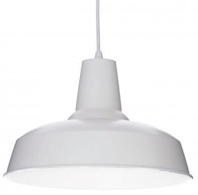 Подвесной светильник Ideal Lux Moby SP1 Bianco
