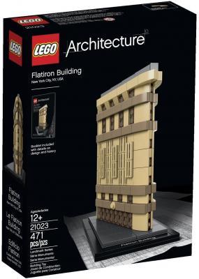 Конструктор Lego Architecture Флэтайрон-билдинг 471 элемент 21023