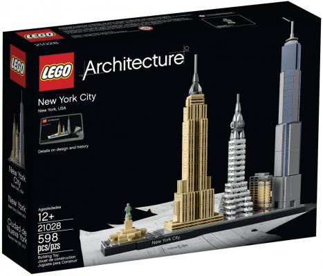 Конструктор Lego Architecture Нью-Йорк 598 элементов 21028
