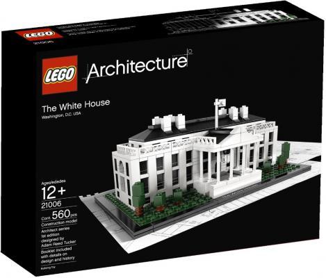 Конструктор Lego Architecture Белый дом 560 элементов 21006