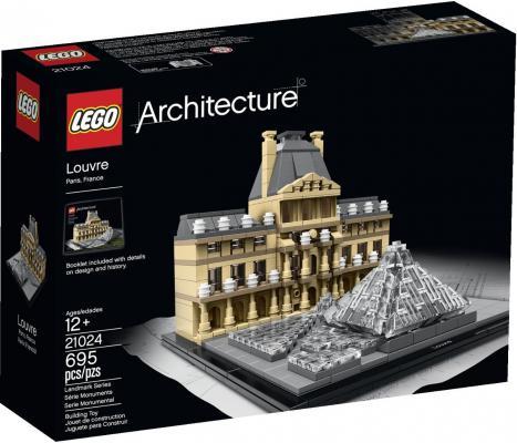 Конструктор Lego Architecture Лувр 695 элементов 21024