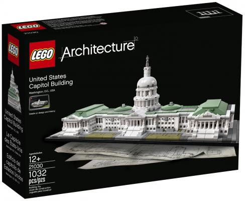 Конструктор Lego Architecture Капитолий 1032 элемента 21030