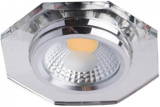 Встраиваемый светодиодный светильник MW-Light Круз 10 637014401 mw light встраиваемый светильник mw light круз 637015401