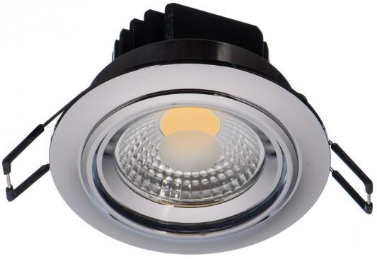 Встраиваемый светодиодный светильник MW-Light Круз 637015701 mw light встраиваемый светильник mw light круз 637015401
