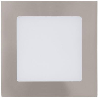 Встраиваемый светодиодный светильник Eglo Fueva 1 95276 eglo встраиваемый светодиодный светильник eglo fueva 1 96056