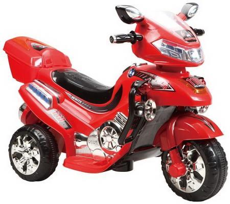 Мотоцикл эл. Shanghai Inter-World красный, свет, mp3, аккум 6V/4.5AH,12 86094