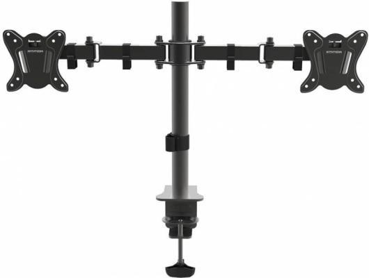 Кронштейн ARM Media LCD-T13 черный для LCD/LED ТВ 15-32 настольный max 8 кг arm media lcd t13 15 32 до 8кг vesa до 100x100 черный для двух мониторов