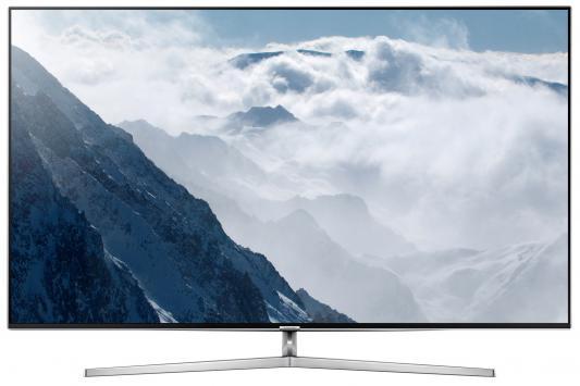 Телевизор Samsung UE49KS8000UXRU серебристый