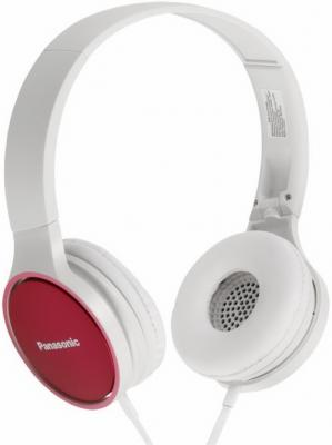 Наушники Panasonic RP-HF300GC-P бело-красный наушники panasonic rp hje125e p