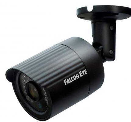 """Камера IP Falcon EYE FE-IPC-BL200P CMOS 1/2.8"""" 1920 x 1080 H.264 RJ-45 LAN PoE черный"""