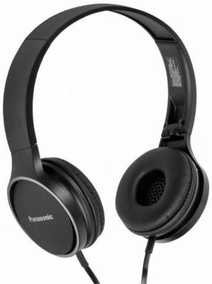 Наушники Panasonic RP-HF300GC-K черный panasonic rp hde3mgc k in ear earphone stereo sound headphones headset music earpieces with microphone earphones super bass