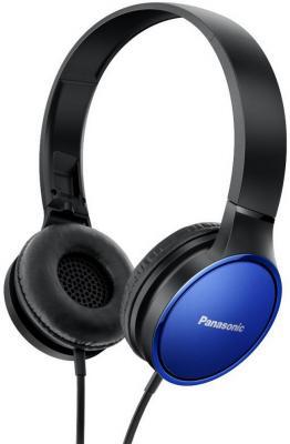Наушники Panasonic RP-HF300GC-A черно-синий наушники panasonic rp hxs220e a blue
