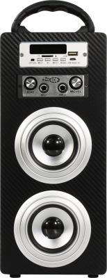 Портативная акустика KS-IS KS-306 черный портативное зарядное устройство ks is ks 279 10000мач microusb черный