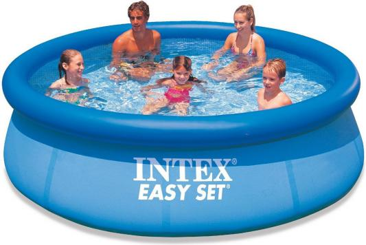 Надувной бассейн INTEX Easy Set 244х76 см, фильтр-насос 220-240 V 28112