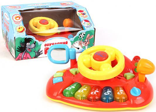 Интерактивная игрушка Союзмультфильм Руль обучающий от 3 лет разноцветный 4605885707882