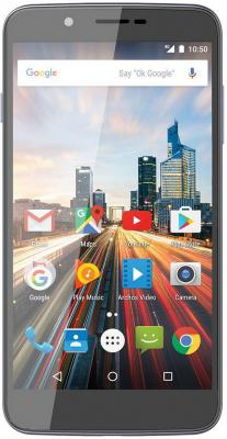 Смартфон ARCHOS 55 Helium Ultra серый 5.5 32 Гб LTE Wi-Fi GPS 3G 503319 смартфон zte blade v8 золотистый 5 2 32 гб lte wi fi gps 3g bladev8gold