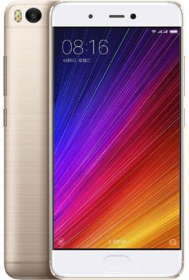 Смартфон Xiaomi Mi5S золотистый 5.15 32 Гб LTE NFC Wi-Fi 3G GPS MI5S32GBGL смартфон zte blade v8 золотистый 5 2 32 гб lte wi fi gps 3g bladev8gold