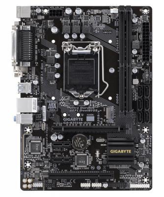 Мат. плата для ПК GigaByte GA-B250M-D3V Socket 1151 B250 2xDDR4 1xPCI-E 16x 1xPCI 2xPCI-E 1x 6xSATAIII mATX Retail