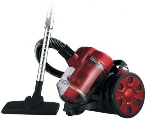 Пылесос Lumme LU-3208 сухая уборка чёрный красный