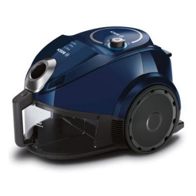 Пылесос Bosch BGS3U1800 сухая уборка чёрный синий цена и фото