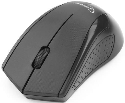 Мышь беспроводная Gembird MUSW-305 чёрный USB MUSW-305