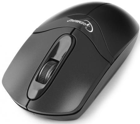 лучшая цена Мышь беспроводная Gembird MUSW-315 чёрный USB + радиоканал