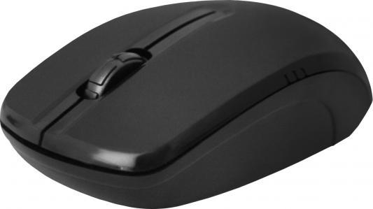 Мышь беспроводная Defender MS-045 чёрный USB + радиоканал 52045