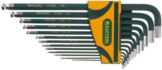 Ключ разводной Kraftool 27444-H13 набор шестигранных ключей kraftool 27444 h13
