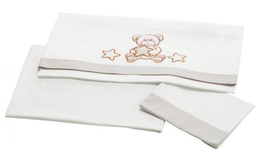 Сменное постельное белье 3 предмета Pali Meggie (белый) постельное белье forest bow wow 3 предмета