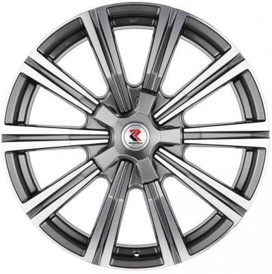 Диск RepliKey Lexus LX570 8.5xR20 5x150 мм ET60 DGMF RK6895 литой диск replikey rk yh5061 toyota land cruiser 200 8 5x20 5x150 d110 5 et60 s