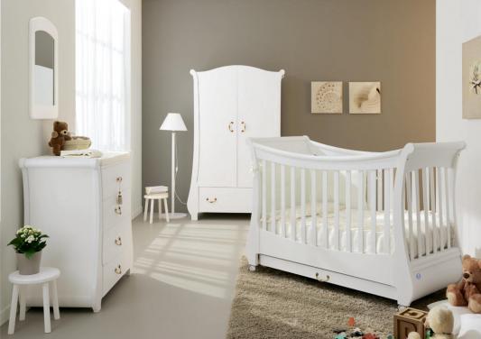Кроватка Pali Tulip (белый)