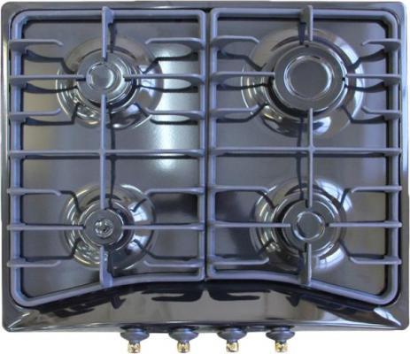 Варочная панель газовая Electronicsdeluxe 5840.00гмв-000 ЧР черный