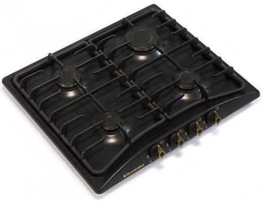 Варочная панель газовая Electronicsdeluxe 5840.00гмв-007 ЧР черный