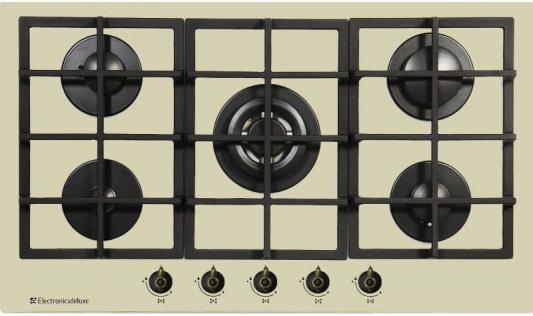 Варочная панель газовая Electronicsdeluxe GG51130245FTC-005 бежевый