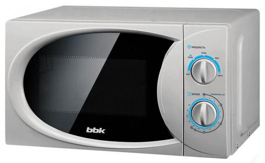 СВЧ BBK 20MWS-714M/S 700 Вт серебристый
