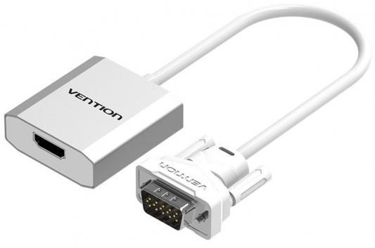 Конвертер Vention ACEW0 VGA + аудио > HDMI
