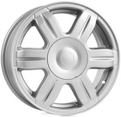 Диск K&K Hyundai Solaris (КСr670) 6xR15 4x100 мм ET48 Сильвер диск magnetto hyundai solaris 6 0xr15 4x100 et48 d54 1 silver 15003s am