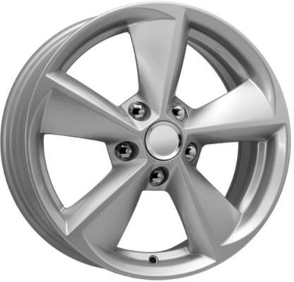Диск K&K Opel Astra J КСr681 6.5xR16 5x115 мм ET41 Сильвер 64441