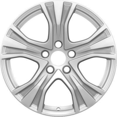 Диск K&K Audi A4 (КС673) 7xR17 5x112 мм ET46 Сильвер