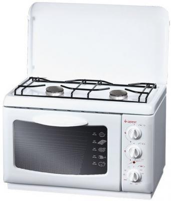 Газовая плита Gefest ПГЭ 120 белый 13961 газовая плита gefest пгэ 5110 02 газовая духовка белый