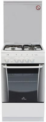 Комбинированная плита De Luxe 506031.01ГЭ (КР) белый комбинированная плита de luxe 506031 00гэ белый