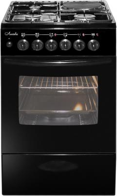 Комбинированная плита Лысьва ЭГ 1/3г01 МС-2у черный ls00052