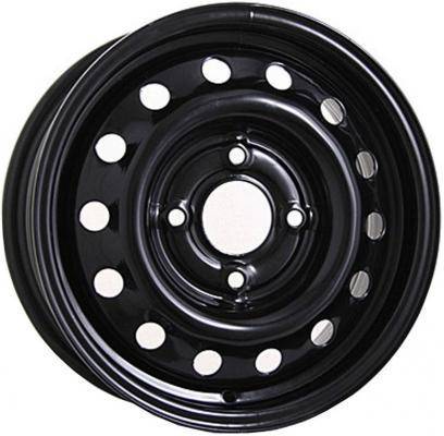 Диск Mefro Ford Fiesta 514012 5.5xR14 4x108 мм ET37.5 Черный