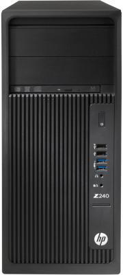 Системный блок HP Z240 E3-1240v5 3.5GHz 16Gb 256Gb SSD Quadro M2000-4Gb DVD-RW Win10Pro клавиатура мышь черный Y3Y33EA