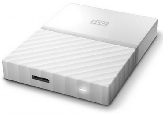 "Внешний жесткий диск 2.5"" USB3.0 1 Tb Western Digital My Passport WDBBEX0010BWT-EEUE белый"