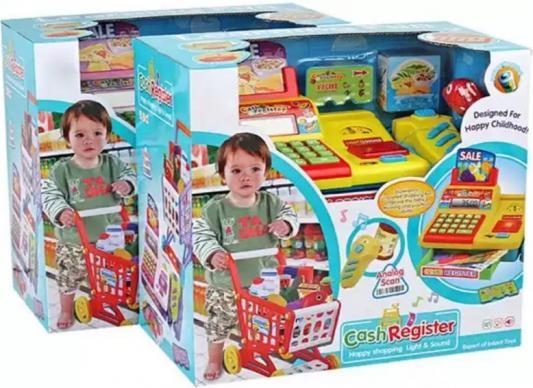 Игровой набор Shantou Gepai Супермаркет с тележкой