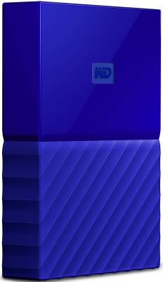 "Внешний жесткий диск 2.5"" USB3.0 1 Tb Western Digital My Passport WDBBEX0010BBL-EEUE синий"