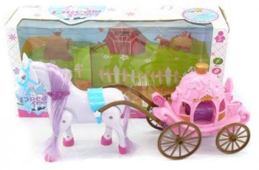 Игровой набор Shantou Gepai Карета с лошадью в ассортименте  686-632