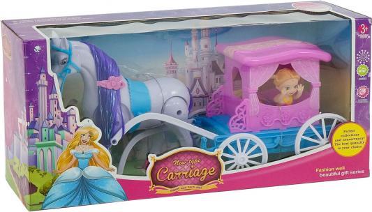 Игровой набор Shantou Gepai Кукла в карете в ассортименте